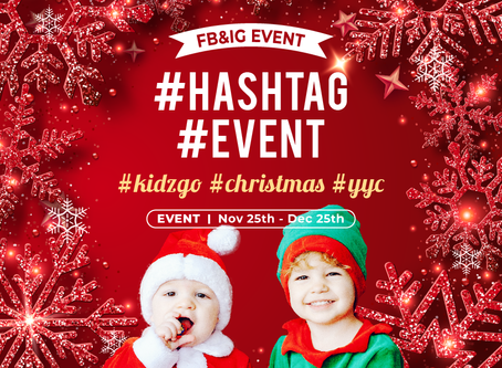 HASHTAG EVENT & GET 50% OFF