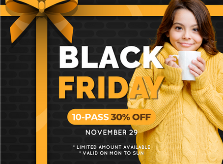 10 PASS 30% OFF ON BLACK FRIDAY