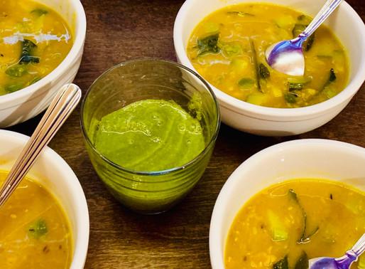 カンタンで理に適ったデトックスフード、 デトックスダルスープのレシピ