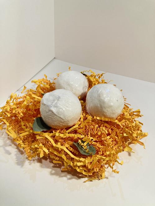 Yuzu & Lemon Bath Bomb