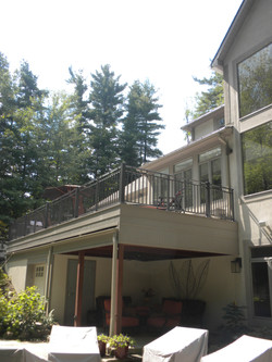 Second Story Deck Addition