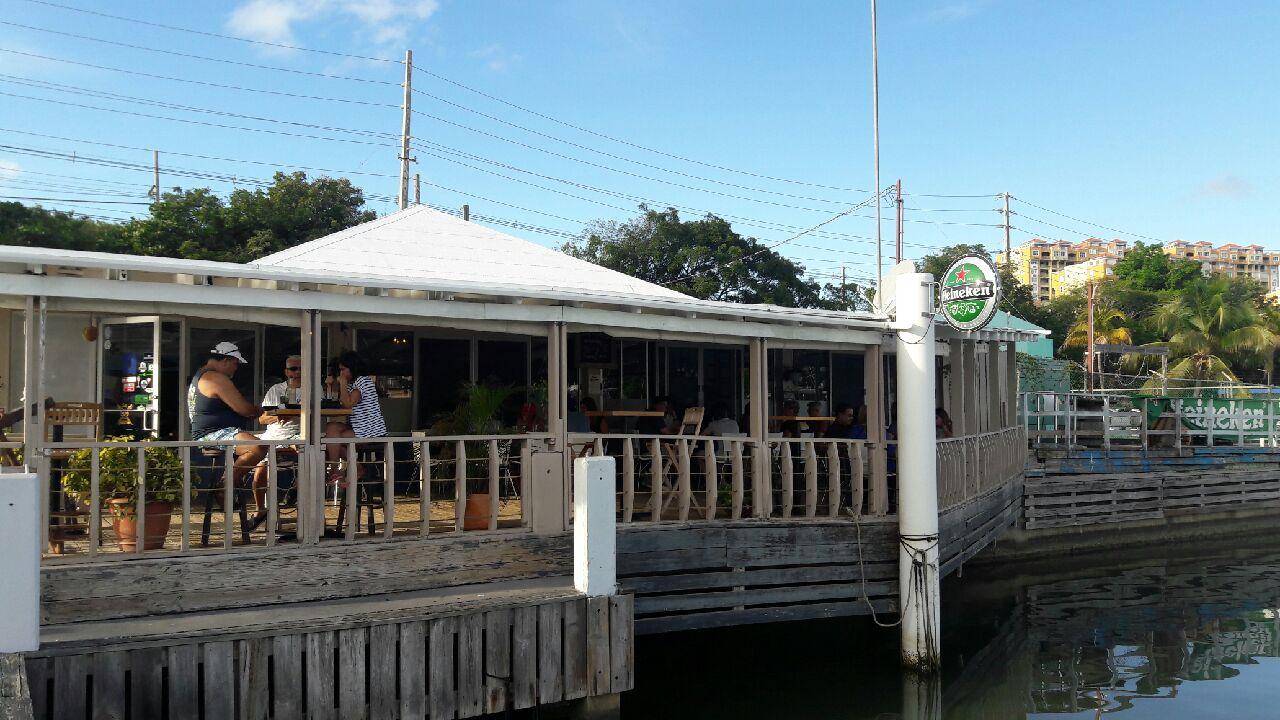 Outside of El Varadero Seaside Grill