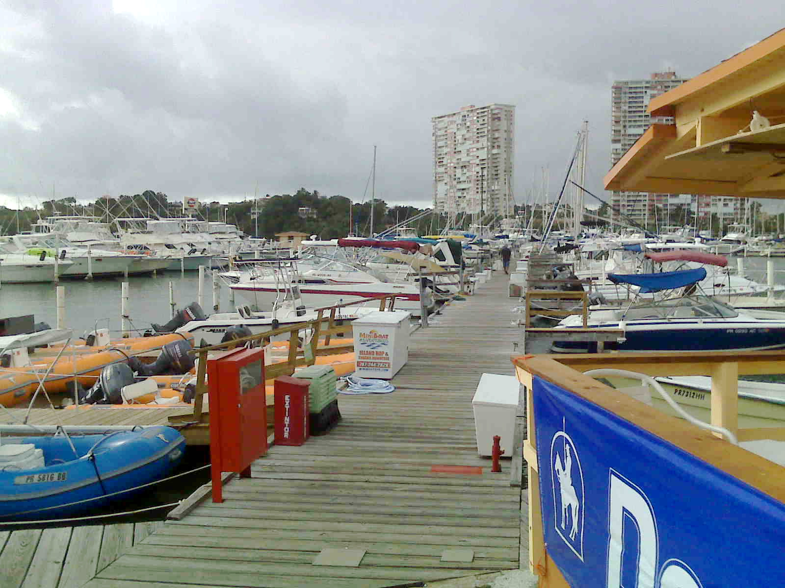 Marina Oceanfront View