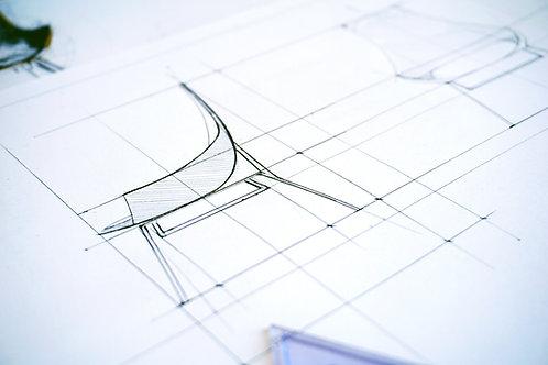 Τεχνικό & Κατασκευαστικό Σχέδιο Επίπλου