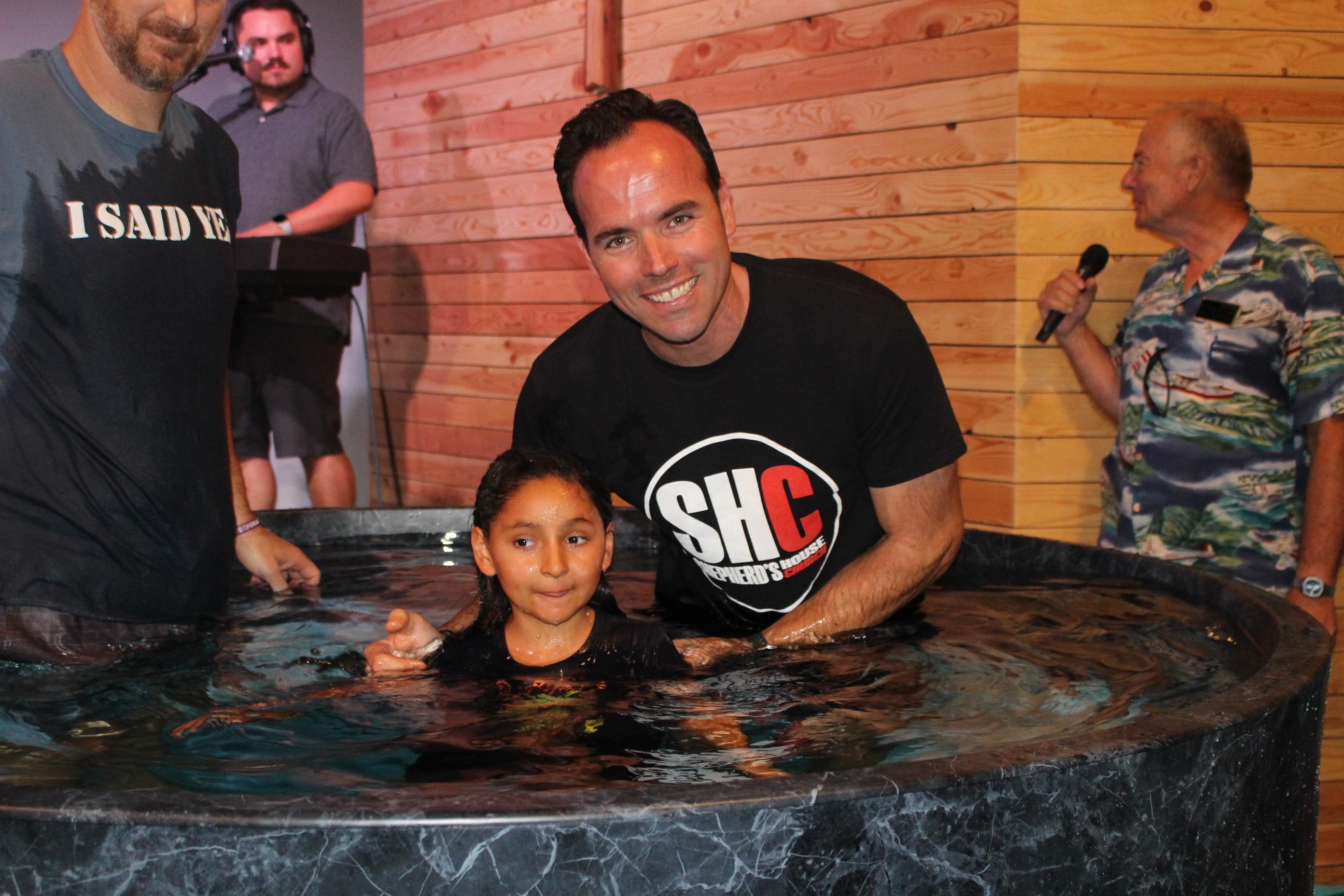 Kids Church Baptism
