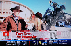 Terry Grant, The Mantracker & Will