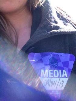 Media Badge for Cirque Du Soleil
