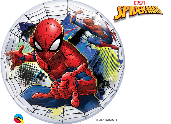 Spiderman - Qualatex Bubble Balloon