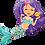 Thumbnail: Mermaid - Qualatex Large Foil Balloon