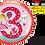 Thumbnail: Rachel Ellen - Princess - 3 - Qualatex Small Foil Balloon
