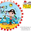 Thumbnail: Rachel Ellen - Happy Birthday Pirate - Qualatex Small Foil Balloon