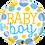 Thumbnail: Baby Boy - Qualatex Small Foil Balloon