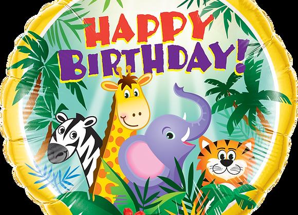Happy Birthday Jungle Friends