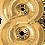 Thumbnail: Gold - 8 - Qualatex Large Foil Balloon