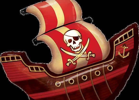Pirate Ship - Qualatex Large Foil Balloon