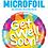 Thumbnail: Multi coloured Get well soon - Qualatex Small Foil Balloon