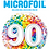 Thumbnail: Rainbow Confetti - 90 - Qualatex Small Foil Balloon