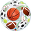 Thumbnail: Happy Birthday Sports - Qualatex Bubble Balloon