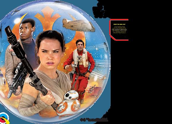 Star Wars - Qualatex Bubble Balloon