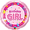 Thumbnail: Birthday Girl - Cake Balloons - Pink - Qualatex Small Foil Balloon