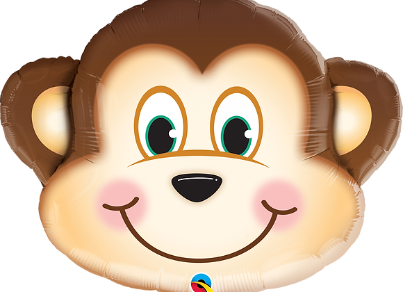 Monkey - Qualatex Large Foil Balloon