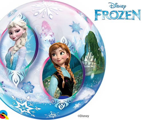 Disney Frozen - Qualatex Bubble Balloon