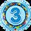 Thumbnail: Transport - 3 - Blue - Qualatex Small Foil Balloon