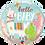 Thumbnail: Hello Baby Llama - Small Qualatex Balloon