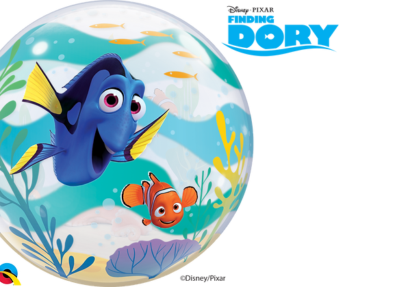 Disney Finding Dory - Qualatex Bubble Balloon