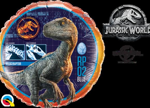 Jurassic World -  Qualatex Small Foil Balloon