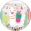 Thumbnail: Llama Birthday Party - Qualatex Bubble Balloon