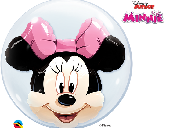 Disney Minnie Mouse - Qualatex Double Bubble Balloon