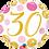 Thumbnail: Gold and Pink 30 - Qualatex Small Foil Balloon