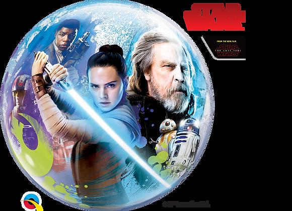 The Last Jedi - Qualatex Bubble Balloon