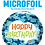 Thumbnail: Happy Birthday Sharks - Qualatex Small Foil Balloon