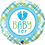 Thumbnail: Baby Boy - Green Blue - Qualatex Small Foil Balloon