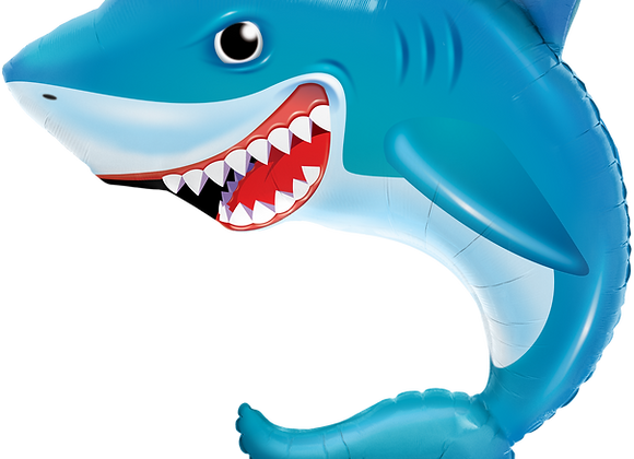 Shark - Qualatex Large Foil Balloon