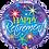 Thumbnail: Happy Retirement - Stars -  Qualatex Small Foil Balloon