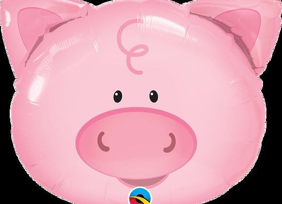 Pig - Qualatex Large Foil Balloon