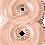 Thumbnail: Rose Gold - 8 - Qualatex Large Foil Balloon
