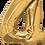 Thumbnail: Gold - 4 - Qualatex Large Foil Balloon