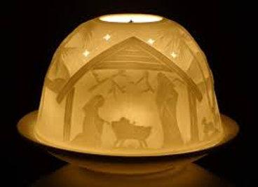 Tea Lights - Nativity Scene