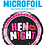 Thumbnail: Hen Night - Black and Pink - Qualatex Small Foil Ball
