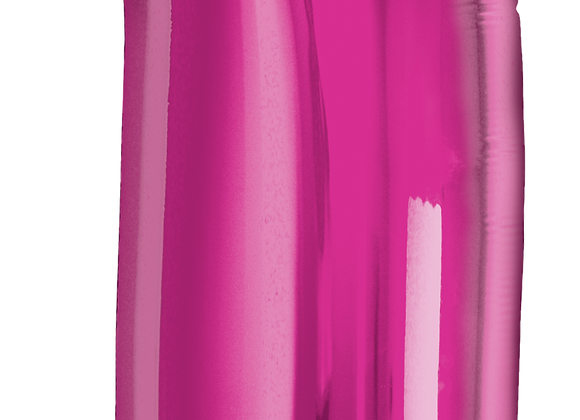 Hot Pink - 1 - Qualatex Large Foil Balloon