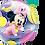 Thumbnail: Disney Baby Minnie - Qualatex Bubble Balloon