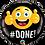 Thumbnail: Emoji - #Done - Qualatex Small Foil Balloon