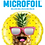 Thumbnail: Mr Cool Pineapple - Qualatex Small Foil Balloon