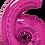 Thumbnail: Hot Pink - 6 - Qualatex Large Foil Balloon