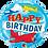 Thumbnail: Happy Birthday - Airplane - Qualatex Small Foil Balloon