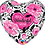 Thumbnail: Wonderful Mum - Black and Pink - Qualatex Small Foil Balloon